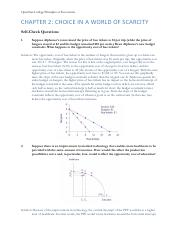 Econ Ch 2 HW Solutions