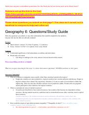 Geography6QuestionsStudyGuide (1)