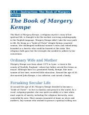 1.4.1 - Instruction - The Book of Margery Kempe.docx