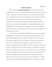 High School Essay Example  Pages Barack Obama Essay How Do I Write A Thesis Statement For An Essay also Research Paper Essay Format Barack Obama Essay  Raissa Masket Dreams From My Father Barack  Essay Tips For High School