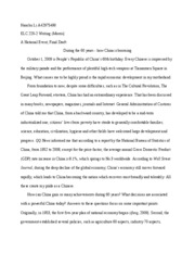 HANCHU LI EXAMPLE ESSAY WITH REFERENCES - FINAL DRAFT