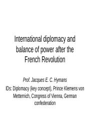 IR 212 fall 2019 Diplomacy and Congress of Vienna .pptx