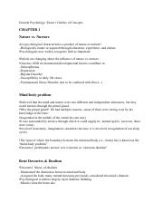General Psychology- Exam 1 Outline of Concepts.pdf