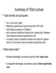 Summary of Third Lecture.ppt