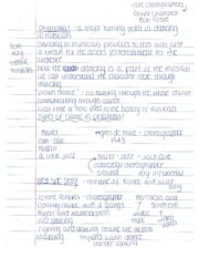 LBST1101 - Oklahoma and West Side Story Video Notes