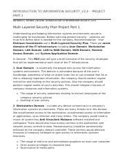 INTRODUCTION TO INFORMATION SECURITY_V2.0 – MLS PROJECT PART 1.docx