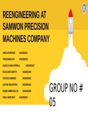 Reengineering at Samwon Kel 5.pptx