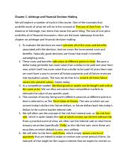 Ch 3 Arbitrage & Financial Decision Making.docx