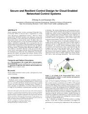 Cloud Enabled Networked Control Systems.pdf