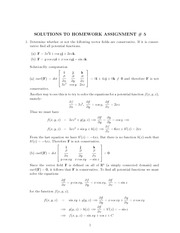 Assignment 5 Solutions
