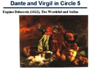 Dante and Virgil in Circle 5