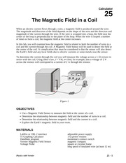 25 Magnetic Field in a Coil