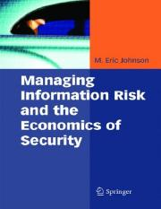 Managing Information Risk and the Economics of Security.pdf