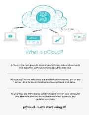 Getting Started with pCloud