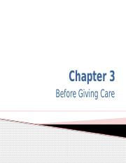 Chap 3 Before Giving Care (1)