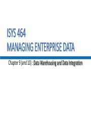 Chapter 9,10 Data Wharehousing and Data Integration.pdf