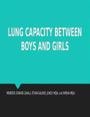 LUNG CAPACITY BETWEEN BOYS AND GIRLS.pptx