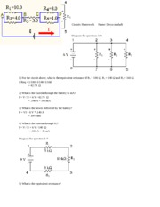 Circuits HW  series&parall&comb