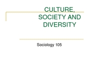 3 - HANDOUT STUDENTS Culture, Society and Diversity