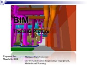 CE 471 Lecture 25 - Alternate BIM Presentation