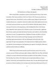 """stalins power in the soviet union essay The way subjects were taught was laid down by the government – especially history where stalin's part in the 1917 revolution and his relationship with lenin was overplayed books were strictly censored by the state and stalin ordered the writing of a new book called """"a short history of the ussr"""" which had to be used in."""