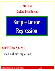 2.6 9.1 Simple Linear Regression.pptx