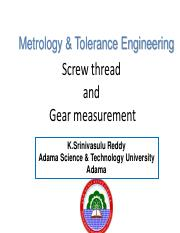 Thread and gear measurement-ksr-2015