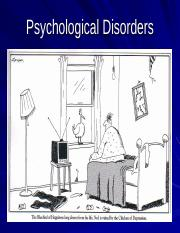 Week 10b Psychological Disorders for students-2
