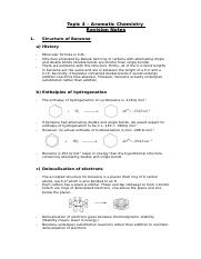 a2 topic 5 notes - aromatic chemistry