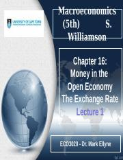 Chapter 16_Money in SOE_Lecture 1_PPP