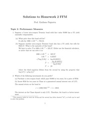 HW2 Solutions