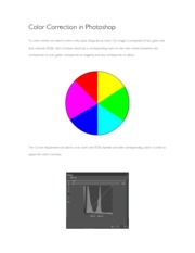 Color Correction in Photoshop Guide