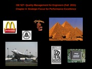 quality management for engineers_chapter4