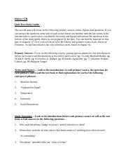History 17B On Line Class Quiz Two Study Guide.docx