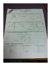 Precalculus Section 4.4 Worksheet