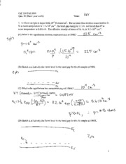 Quiz 10 ChE 350 F09 solutions