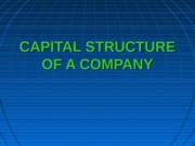 T5_CAPITAL STRUCTURE OF A COMPANY