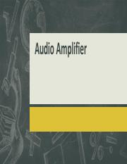 Audio Amplifier - An Overview.pdf