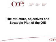 File # 12 OIE International Activity and impact on WTO