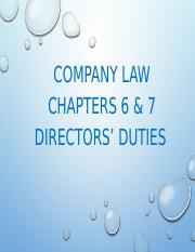 Chapter 4 -Directors Duties(CA 2016 Charts).pptx