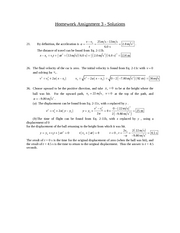 PHSX 114 - HW #2 Solutions