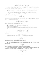 Test 2a Solutions