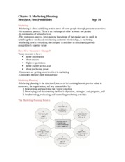 Advanced Marketing