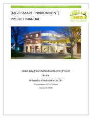 Project Manual
