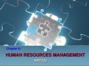 Chapter 6. Human Resources Management - BB
