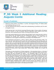 P_SS Week 3 Additional Reading - Comte