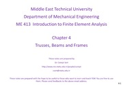 ME 413 Chapter 4 Trusses, Beams and Frames.pdf