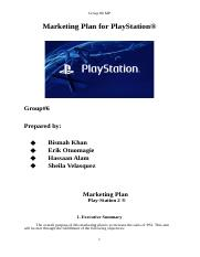 [Final] Marketing Plan for PlayStation.docx