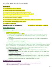 Ch 6 & 7 Notes