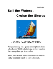 Hidden Lake Announcement